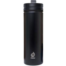 MIZU M9 Drinkfles with Straw Lid 900ml zwart